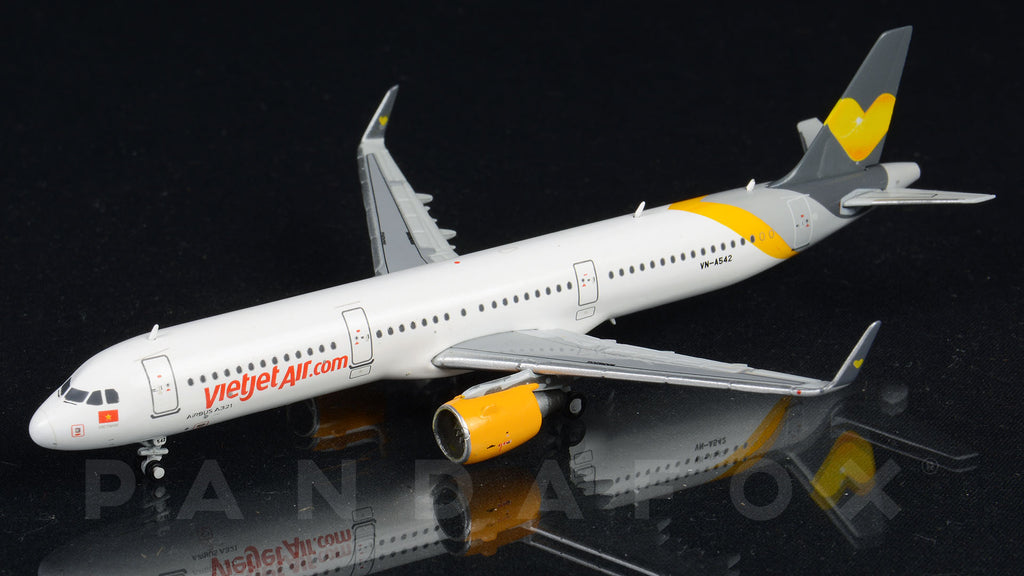 VietJet Air Airbus A321 VN-A542 Thomas Cook Livery JC Wings JC4VJC428 XX4428 Scale 1:400