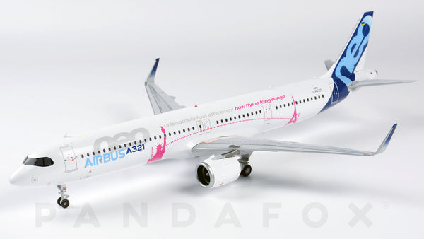 Airbus House Airbus A321LR D-AVZO JC Wings LH2AIR212 LH2212 Scale 1:200