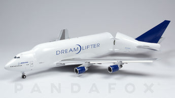 Boeing House Boeing 747-400 LCF Dreamlifter Flaps Down N747BC JC Wings LH2BOE163A LH2163A Scale 1:200