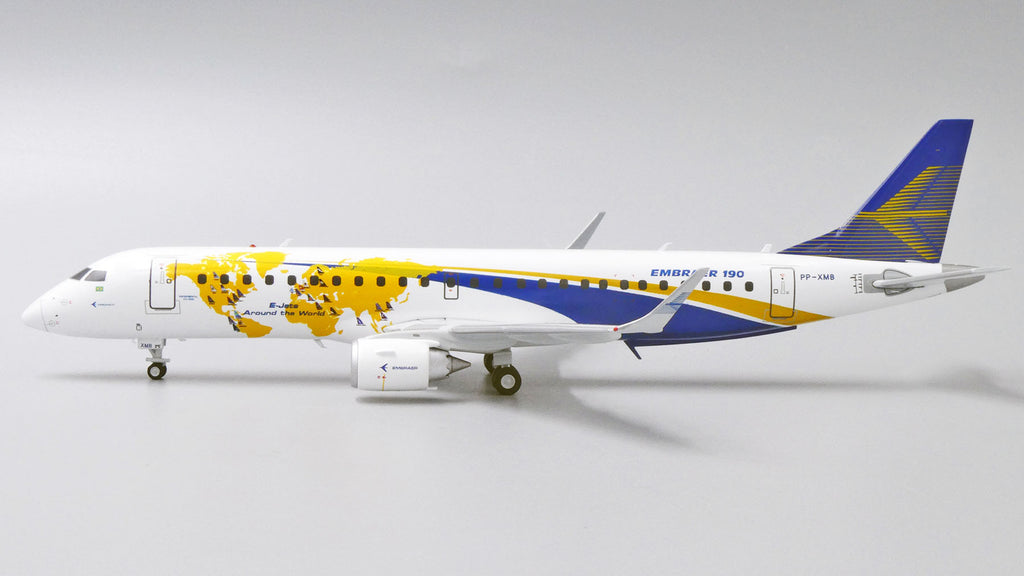 Embraer House Embraer E-190 PP-XMB E-Jets Around The World JC Wings LH2EMB221 LH2221 Scale 1:200