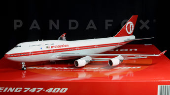 Malaysia Airlines Boeing 747-400 9M-MPP Retro JC Wings LH2MAS009 LH2009 Scale 1:200
