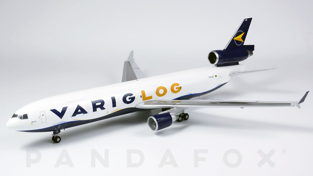 Varig Log MD-11F PR-LGE JC Wings LH2VRG124 LH2124 Scale 1:200
