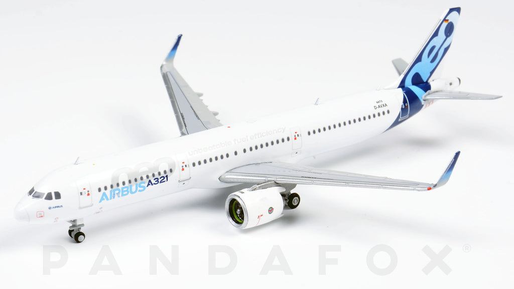 Airbus House Airbus A321neo D-AVXQ JC Wings LH4AIR088 LH4088 Scale 1:400