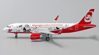 Air Berlin Airbus A320 D-ABNM Flying Home For Christmas JC Wings LH4BER099 LH4099 Scale 1:400