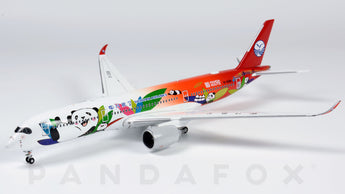 Sichuan Airlines Airbus A350-900 B-306N Panda Route JC Wings LH4CSC145 LH4145 Scale 1:400