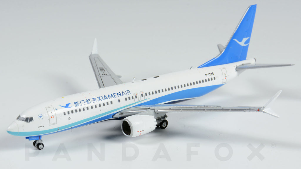 Xiamen Airlines Boeing 737 MAX 8 B-1288 JC Wings LH4CXA108 LH4108 Scale 1:400