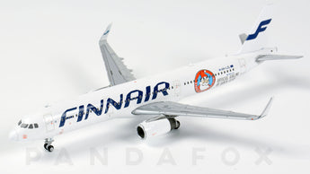 Finnair Airbus A321 OH-LZL Santa Claus JC Wings LH4FIN039 LH4039 Scale 1:400