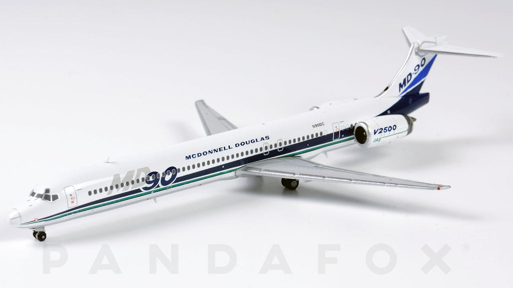 McDonnell Douglas House MD-90 N901DC JC Wings LH4MCD139 LH4139 Scale 1:400
