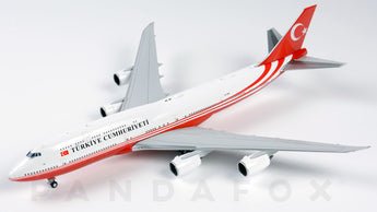 Republic of Turkey Boeing 747-8I TC-TRK JC Wings LH4ROT132 LH4132 Scale 1:400