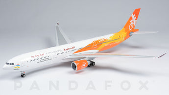 Qatar Airways Airbus A330-200 A7-AED 15th Asian Games Yellow Phoenix PH2QTR242 Scale 1:200