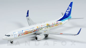 ANA Boeing 737-800 JA85AN Flower Jet Phoenix PH4ANA1586 Scale 1:400