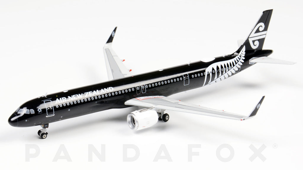 Air New Zealand Airbus A321neo ZK-NNA All Black Phoenix PH4ANZ1842 Scale 1:400