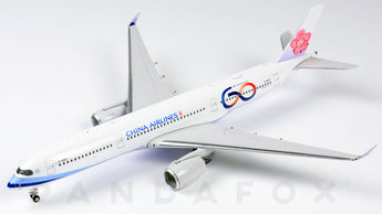 China Airlines Airbus A350-900 B-18917 60th Anniversary Phoenix PH4CAL1915 Scale 1:400