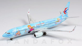 China Eastern Boeing 737-800 B-1317 Shanghai Disney Resort Frozen Phoenix PH4CES2028 Scale 1:400
