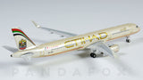 Etihad Airways Airbus A321 A6-AEA Phoenix PH4ETD1166 Scale 1:400