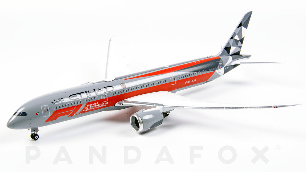 Etihad Airways Boeing 787-9 A6-BLV F1 2019 Phoenix PH4ETD1866 Scale 1:400