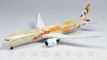 Etihad Airways Boeing 787-9 A6-BLF Choose China Phoenix PH4ETD2030 Scale 1:400