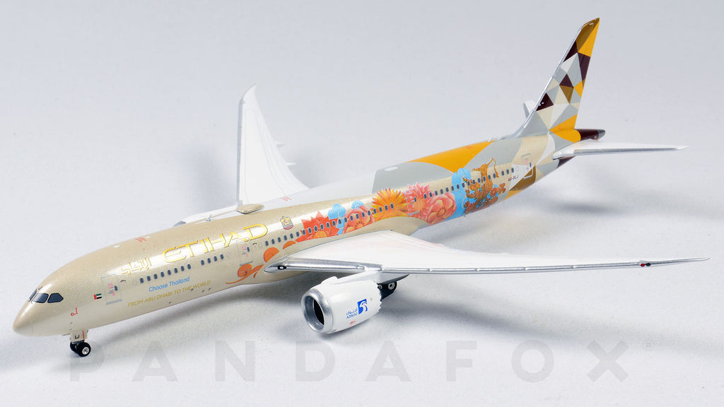 Etihad Airways Boeing 787-9 A6-BLJ Choose Thailand Phoenix PH4ETD2048 Scale 1:400
