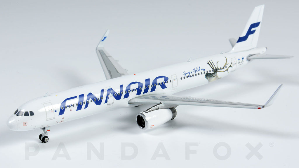 Finnair Airbus A321 OH-LZL Happy Holidays Phoenix PH4FIN1705 Scale 1:400