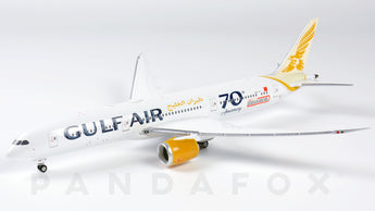 Gulf Air Boeing 787-9 A9C-FF 70th Anniversary Phoenix PH4GFA1997 Scale 1:400