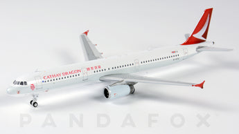 Cathay Dragon Airbus A321 B-HTG Phoenix PH4HDA1970 Scale 1:400