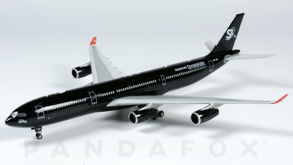 Hi Fly Malta Airbus A340-300 9H-TQM Swiss Space Systems Phoenix PH4HFM1692 Scale 1:400