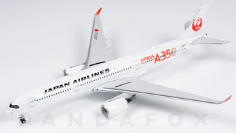 Japan Airlines Airbus A350-900 JA01XJ Red Titles Phoenix PH4JAL1926 Scale 1:400