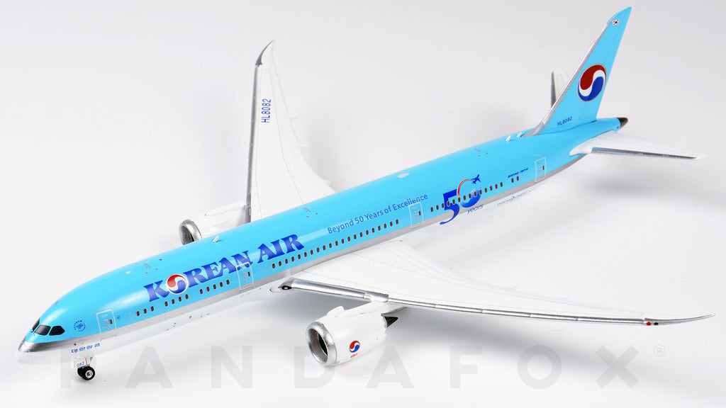 Korean Air Boeing 787-9 HL8082 50 Years of Excellence Phoenix PH4KAL1918 Scale 1:400