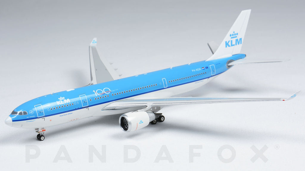 KLM Airbus A330-200 PH-AOA 100th Anniversary Phoenix PH4KLM2014 Scale 1:400