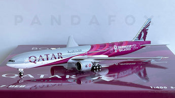 Qatar Airways Boeing 777-300ER A7-BEB Qatar FIFA World Cup 2022 Phoenix PH4QTR2132 04370 Scale 1:400