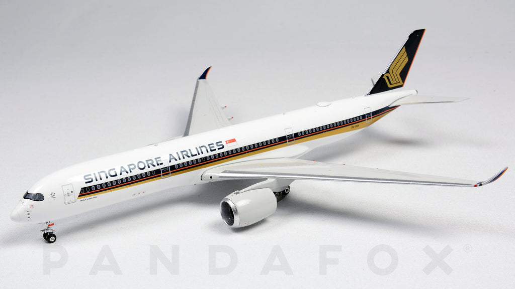 Singapore Airlines Airbus A350-900 9V-SHA Phoenix PH4SIA2049 Scale 1:400