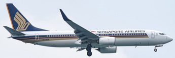 Singapore Airlines Boeing 737-800 9V-MGA Phoenix PH4SIA2118 04363 Scale 1:400