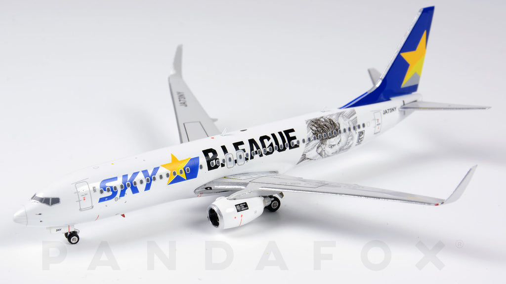 Skymarks Airlines Boeing 737-800 JA73NY B.League Phoenix PH4SKY1960 Scale 1:400
