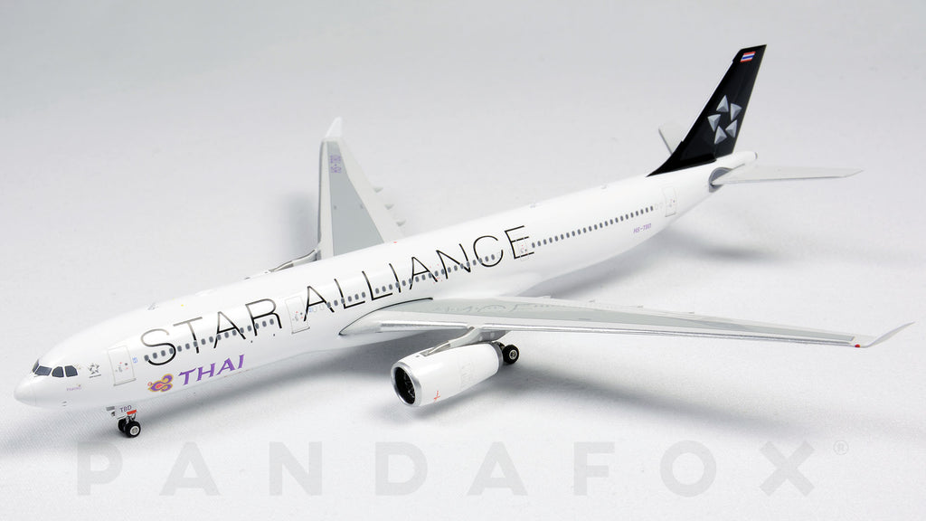 Thai Airways Airbus A330-300 HS-TBD Star Alliance Phoenix PH4THA2039 Scale 1:400