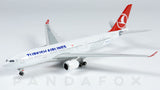 Turkish Airlines Airbus A330-200 TC-JIR Phoenix PH4THY1321 Scale 1:400