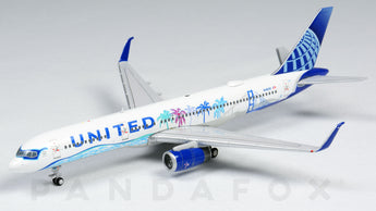 United Boeing 757-200 N14106 Her Art Here California UAL757201 Scale 1:400