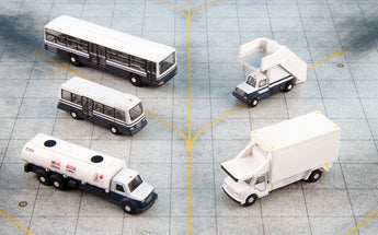 Airport Service Vehicles Set GeminiJets G2APS450 Scale 1:200