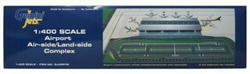 GeminiJets LED Lighted Airport Terminal & Mat Set 1:400 Scale GJARPTB