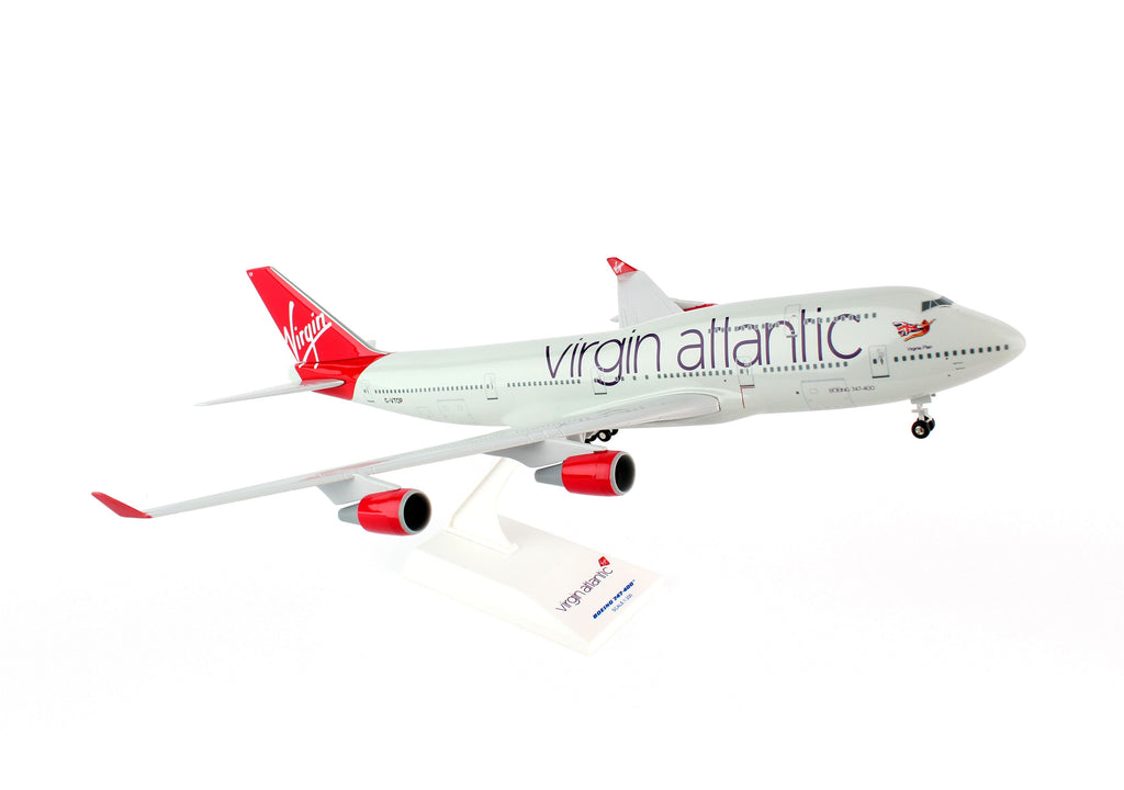 Virgin Atlantic Boeing 747-400 G-VTOP Skymarks SKR672 Scale 1:200