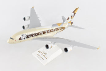 Etihad Airways Airbus A380 A6-APA Year Of Zayed 2018 Skymarks SKR884 Scale 1:200