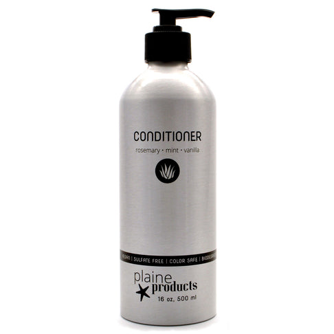 Natural Conditioner, Rosemary Mint Vanilla, in Returnable, Refillable Aluminum Bottles