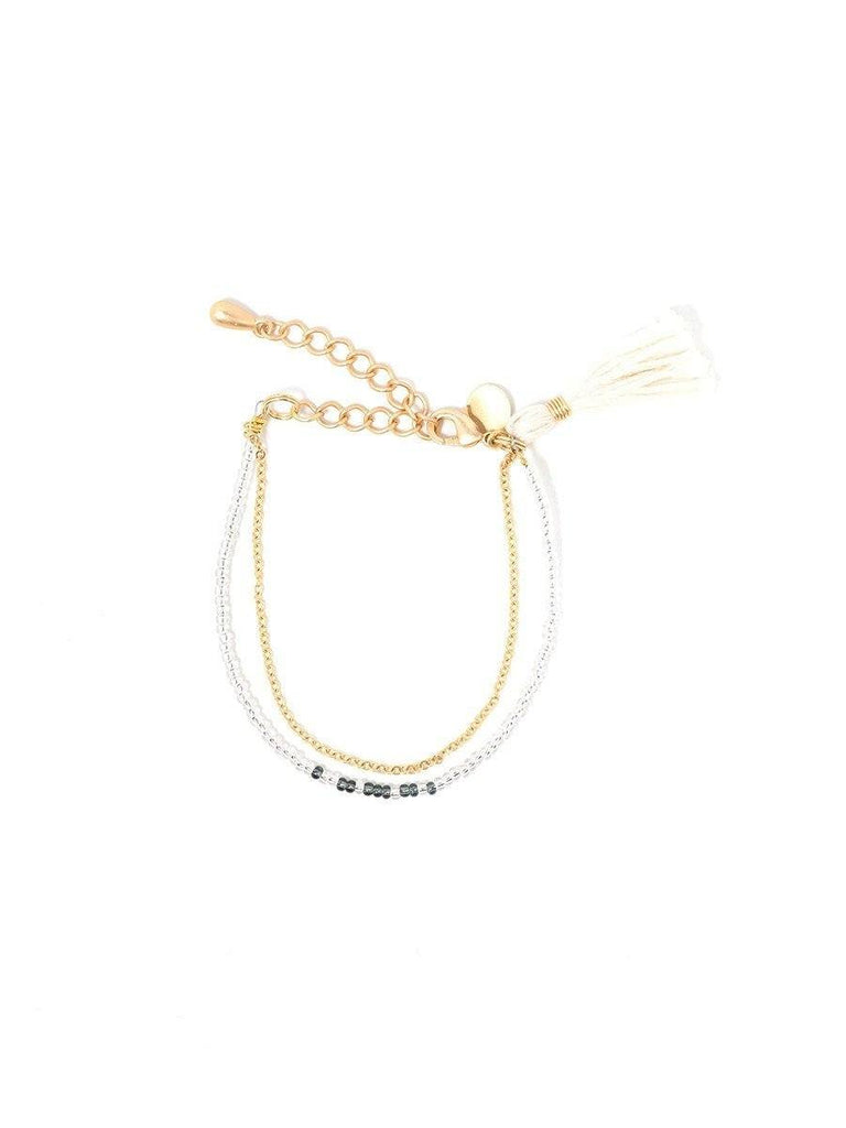 Empower Tassel Bracelet by Jimani Collections - Jewel and Lotus