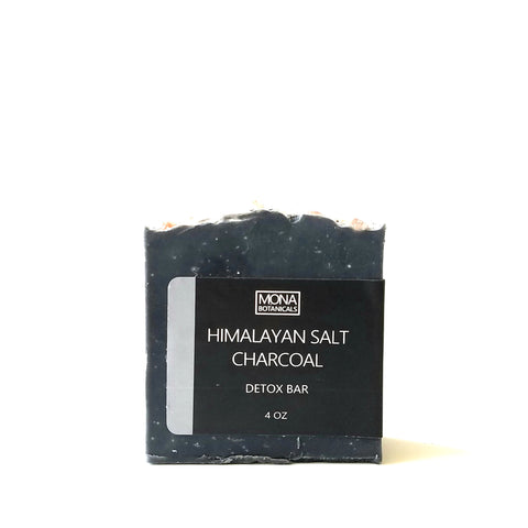 Charcoal Himalayan Salt Detox Bar