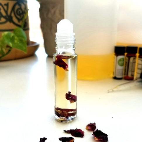 4/21 Essential Oil Perfume Workshop by Mona Botanicals - Jewel and Lotus
