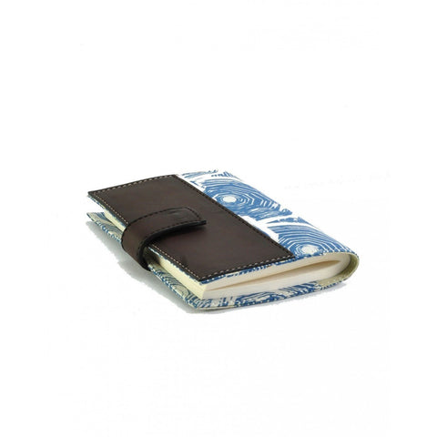 BATIK LEATHER NOTEPAD TRAVEL by Kisaku - Jewel and Lotus