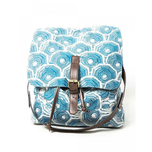 BLUE SCALE BACKPACK TRAVEL by Kisaku - Jewel and Lotus