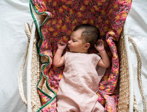 Baby Quilts by Baby Peppers - Jewel and Lotus