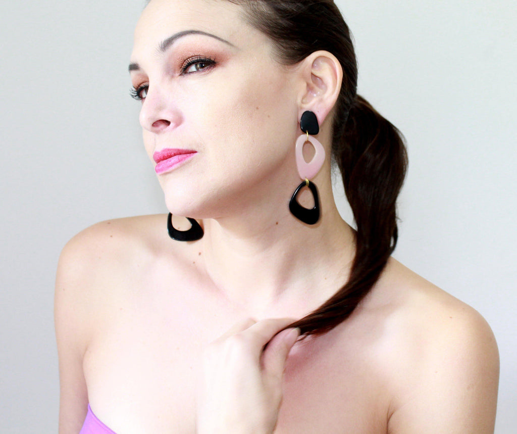 ANTONIA EARRINGS by SHICATO - Jewel and Lotus