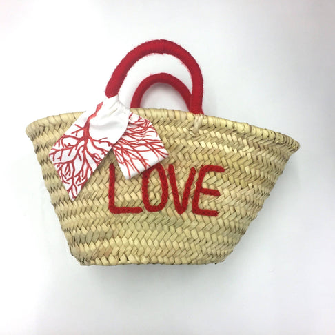 Baby LOVE Coral Basket