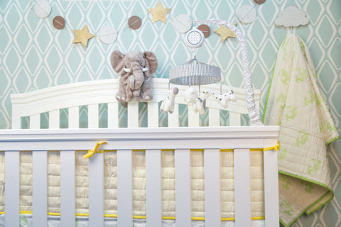 Baby Bedding: Fishy